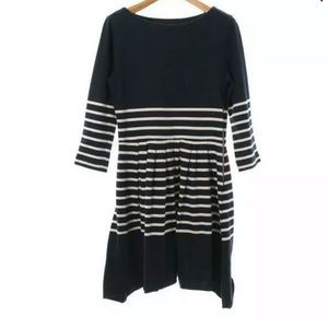 Boy by Band of outsiders navy stripe dress size 3